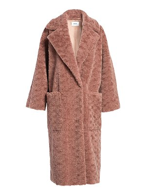 NANUSHKA imogen faux fur teddy coat