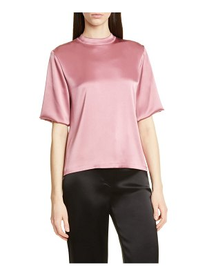 NANUSHKA kaden satin top