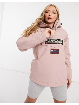 Napapijri rainforest winter 4 jacket in pink