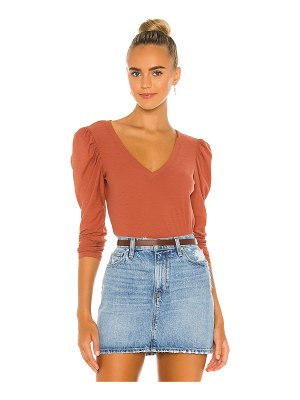 Nation LTD clara bold shoulder tee