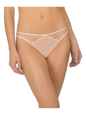 Natori Ethereal Lace-Inset Thong