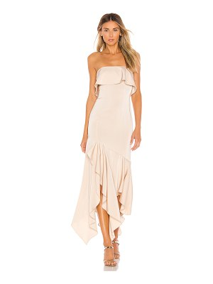 NBD gold rush gown