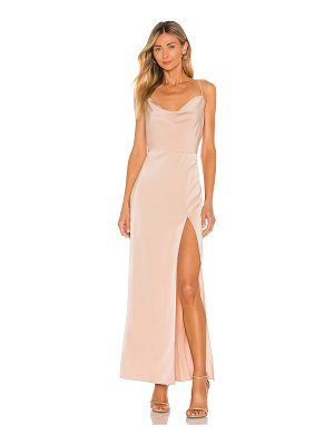 NBD lila gown