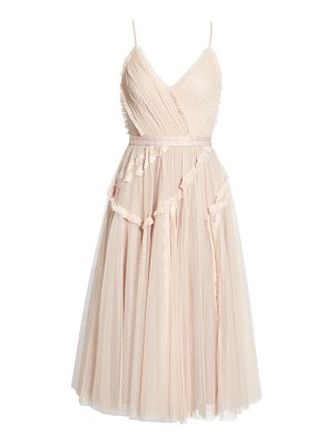 Needle & Thread ballet lace midi dress