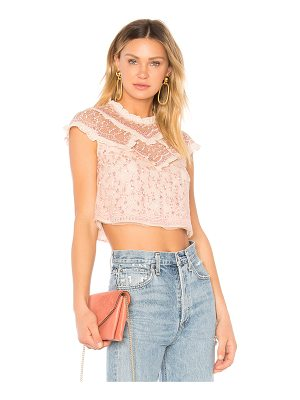 NEEDLE & THREAD Daisy Shimmer Top