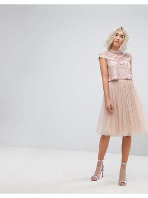 Needle & Thread midi tulle skirt