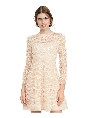 Needle & Thread ruffle bloom dress