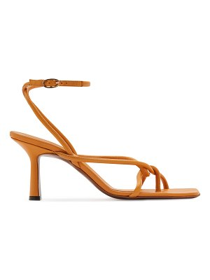Neous Alkes Twisted Napa Ankle-Strap Sandals