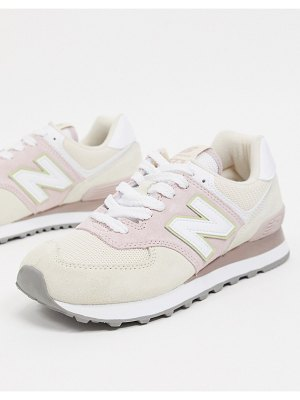 New Balance 574 sneakers in pink