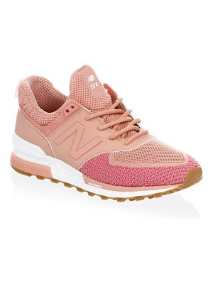 NEW BALANCE Fabric Low-Top Sneakers