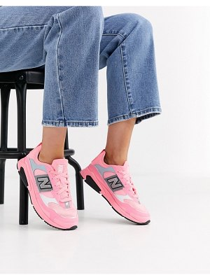 New Balance x-racer sneakers in bright pink