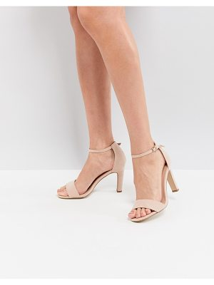 New Look 2 Part Suedette Heeled Sandal