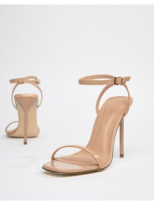 New Look barely there minimal heeled sandal