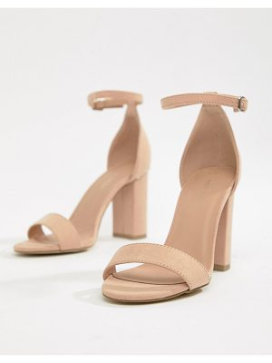 New Look Block Heel Minimal Sandal