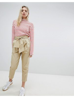 NEW LOOK Cotton Paperbag Waist Pants