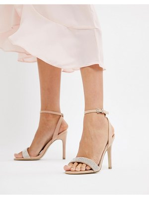 New Look gem strap heeled sandal