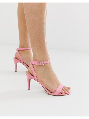 New Look kitten heel in light pink