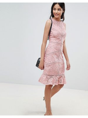 New Look Lace Crochet Trim Dress