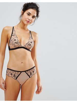 New Look Outline Embroidery Bralette