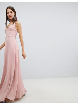 New Look strappy back maxi dress