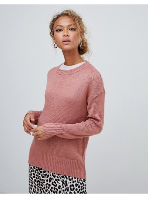 New Look sweater in pink