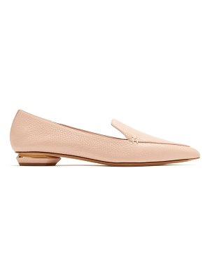 Nicholas Kirkwood Beya point-toe grained-leather loafers