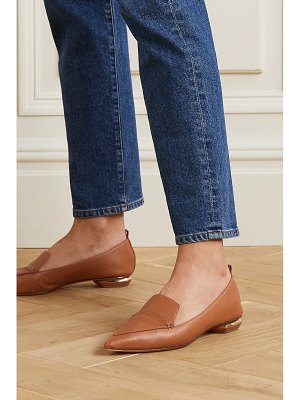 Nicholas Kirkwood beya textured-leather loafers