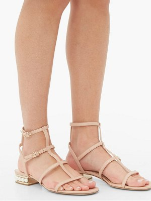 Nicholas Kirkwood casati pearl heeled leather sandals