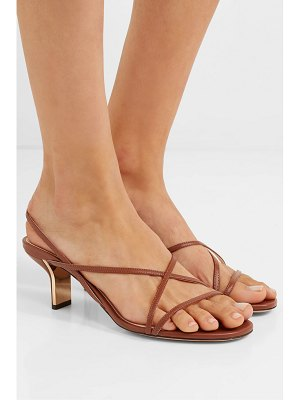 Nicholas Kirkwood leeloo leather slingback sandals