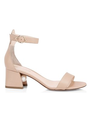 Nicholas Kirkwood miri faux pearl leather ankle-strap sandals