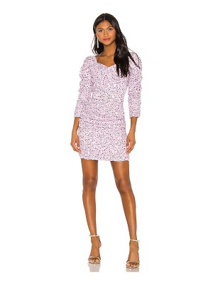 Nicholas x revolve ruched mini dress
