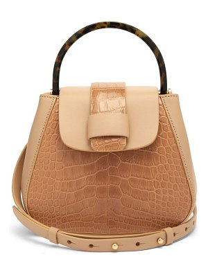 Nico Giani myria mini crocodile effect leather cross body bag