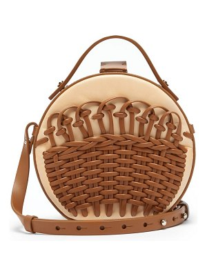 Nico Giani tunilla mini braided-leather cross-body bag