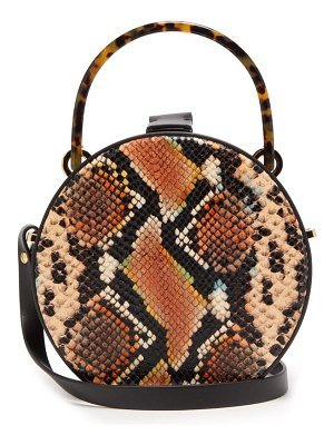 Nico Giani tunilla mini python effect leather cross body bag