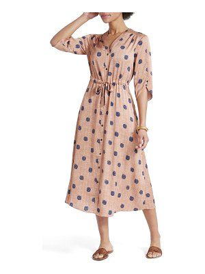Nic+Zoe bengal midi shirtdress