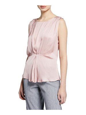 Nic+Zoe Destination Sleeveless Cinched Top