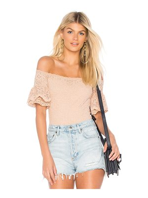 Nightcap Pom Sleeve Bodysuit