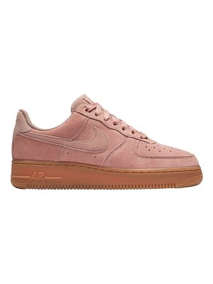 Nike Air force 1 suede to gum sneakers