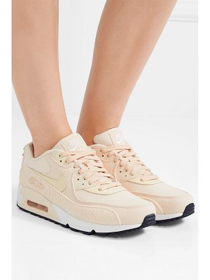 Nike air max 90 leather, corduroy and mesh sneakers