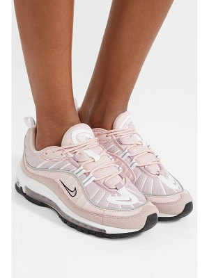 Nike air max 98 leather, suede and mesh sneakers