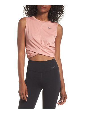 Nike dry crop twist training top