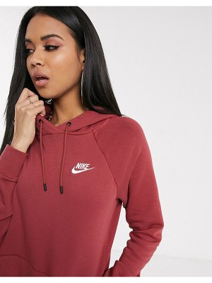 Nike dusty pink essentials hoodie