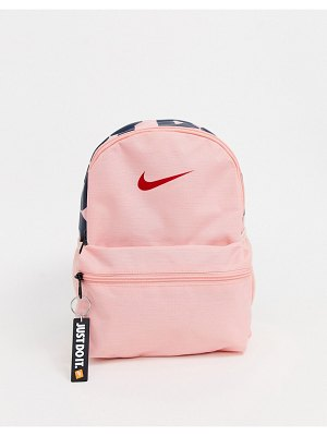 Nike mini just do it backpack in pink