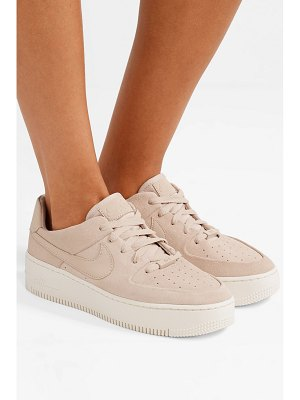 Nike nike air force 1 suede sneakers