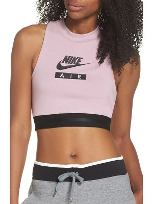 Nike sportswear air crop top