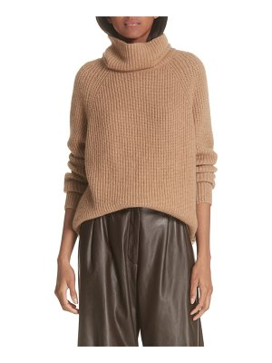 Nili Lotan anitra rib knit turtleneck sweater