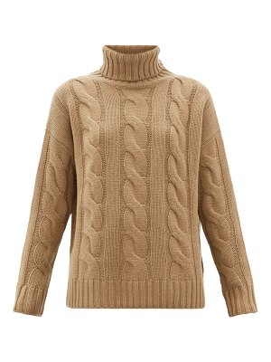 Nili Lotan brynne cable-knit cashmere sweater