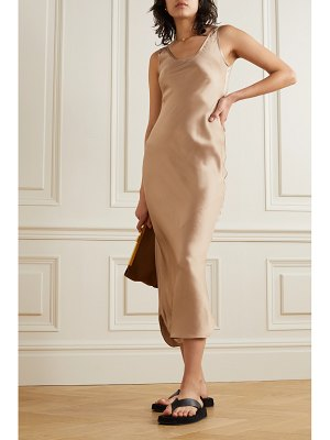 Nili Lotan silk-satin midi dress