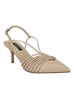 Nine West after strappy pump