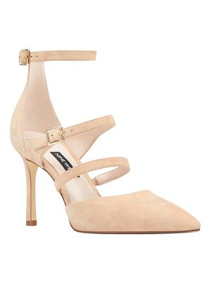 NINE WEST Enchanting Strappy Pump